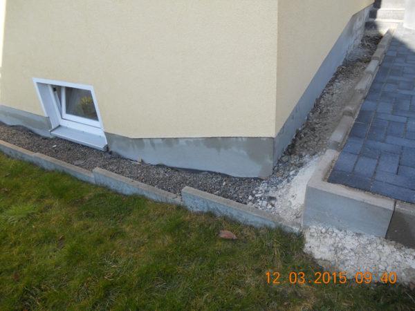 Haussockel Sanierung