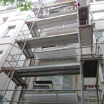 Balkonsanierung Gerüst