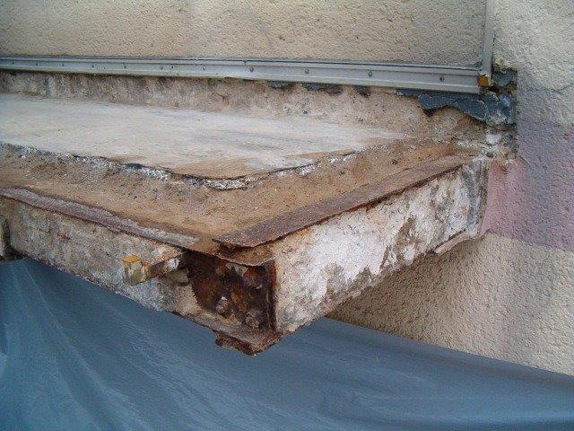 Balkonabdichtung undichter Balkon