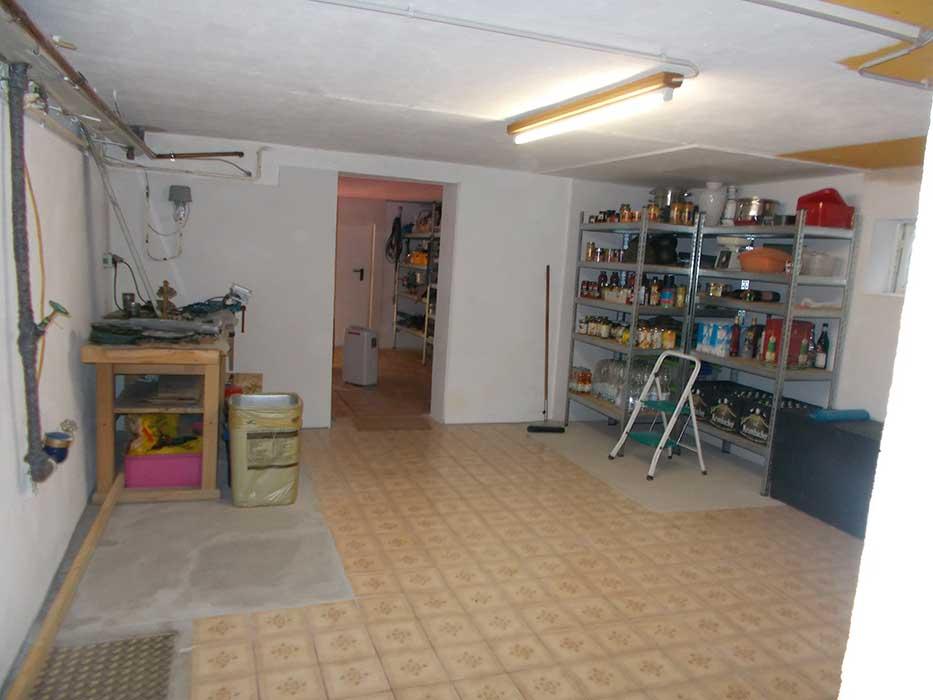 Kellersanierung im Einfamilienhaus