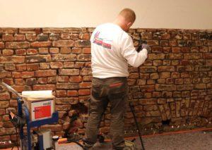 Feuchte Wände abdichten mit Kiesol C