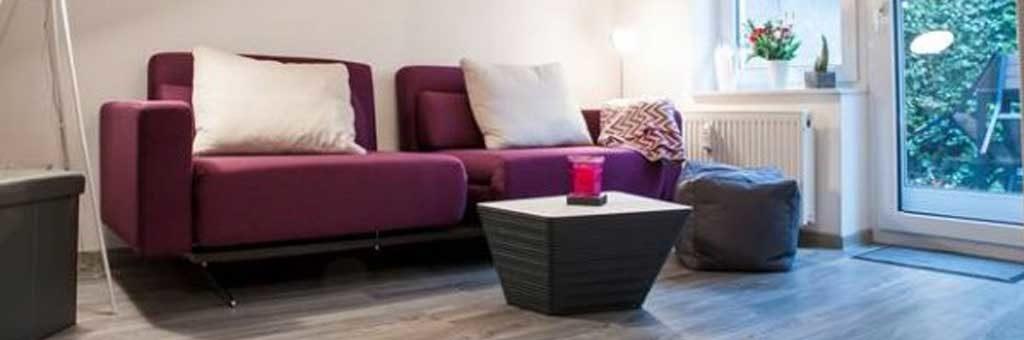 Souterrainwohnung Einrichtung Wohnzimmer