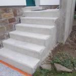 Außentreppe sanierungsbedürftig