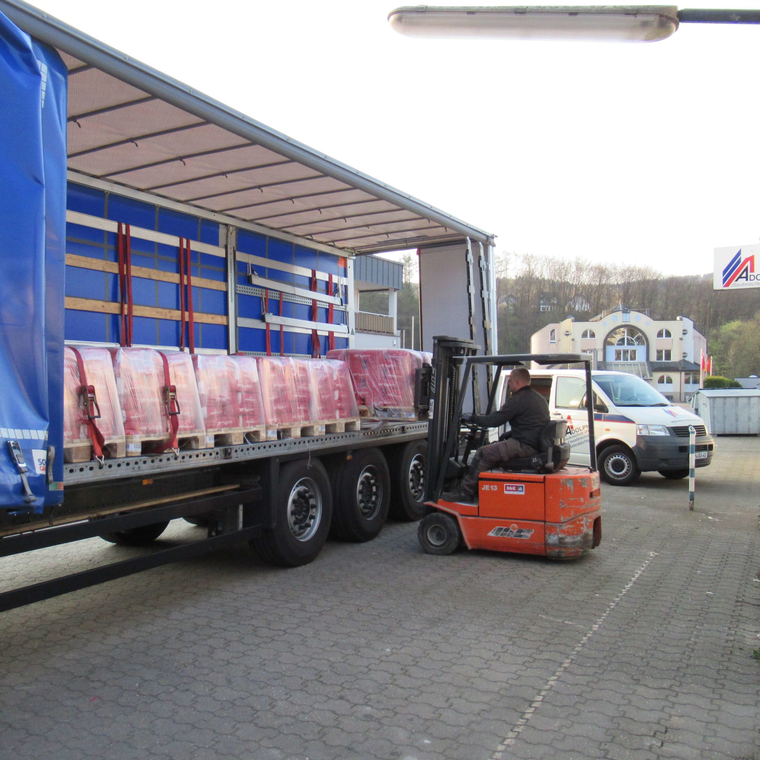 LKW Abdichtungsmaterial Remmers