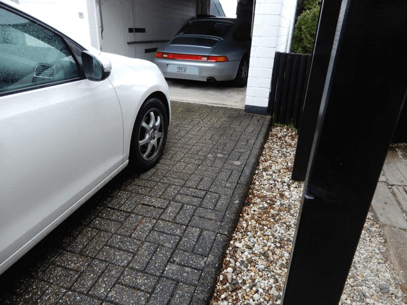 Sanierung garageneinfahrt