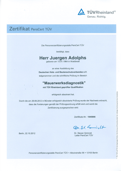 Adolphs-TUV-Zert-Mauerwerksdiagnostik-2012-1