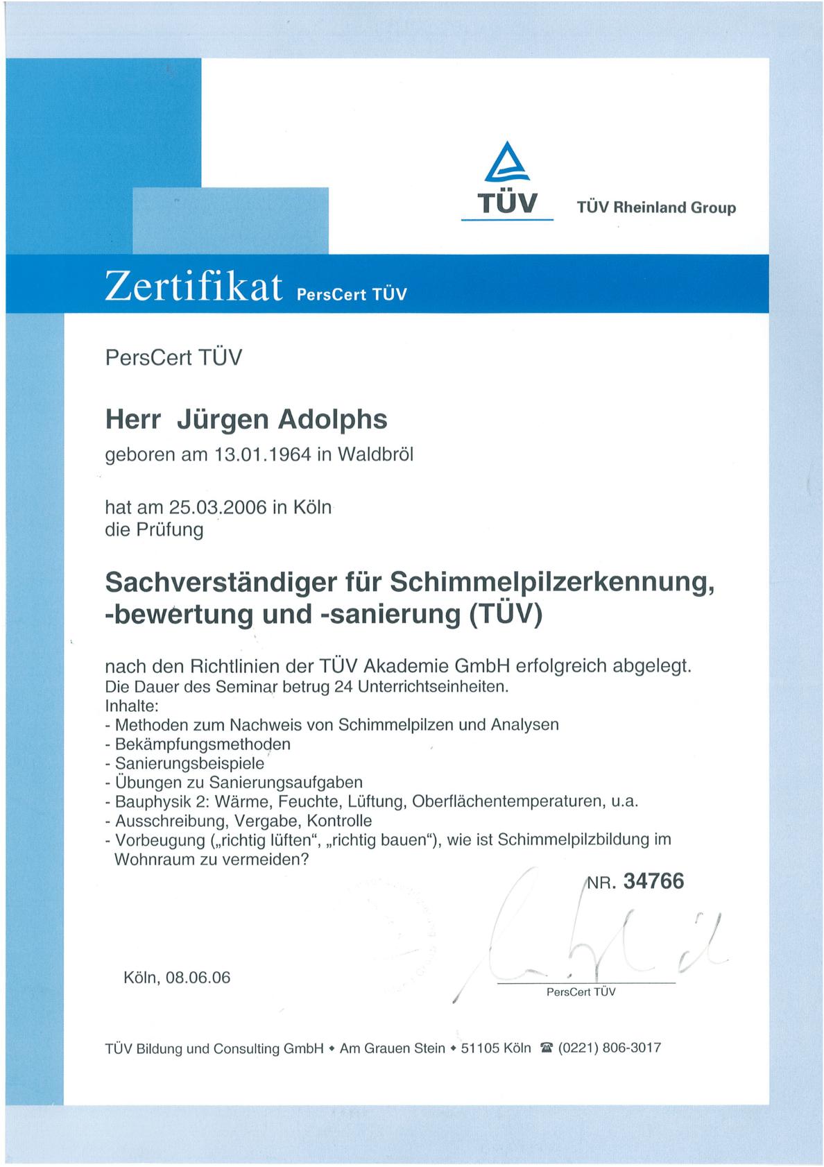Adolphs-TUV-Zert-Sachverstaendiger-2006-1
