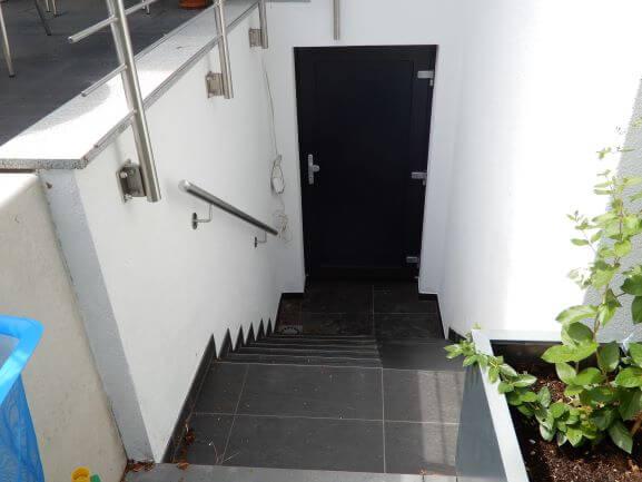 Kellerabgang außen