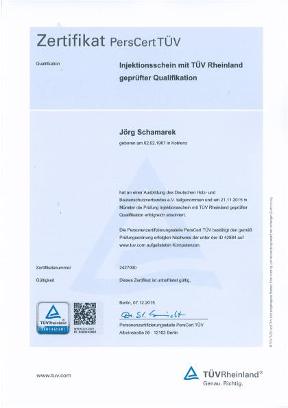 Schamarek-Injektionsschein-2015-1